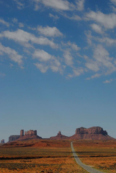 The Road to Monument Valley ©Nora Whalen